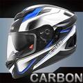 【ZEUS ZS-1600 全罩 AK4碳纖維】極輕量1220g│五件式內襯│內遮陽鏡片│安全帽