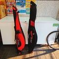 =佳樂釣具=JHSD 海釣竿袋 紅色亮面 130cm /  黑色布面 140cm 海釣竿袋