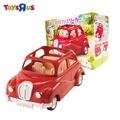玩具反斗城-森林家族 家庭車-紅