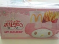*All reserved* My Melody fries holder MacDonalds