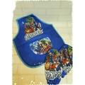 。~ Mian QQ ~。活動式衣服+袖套組合 兒童工作圍兜/畫畫衣/學習衣/吃飯衣/工作服。復仇者聯盟