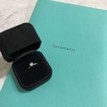 Tiffany & Co. 經典The Tiffany setting六爪鑽戒 0.42克拉💍/ tiffany harmony band with diamonds