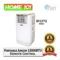 ifan Portable Aircon 12000BTU Remote Ctrl IF1272