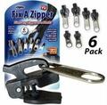 【省錢博士】TV拉鍊頭 / Fix A Zipper 6 Pack Fix / 萬能拉鍊頭