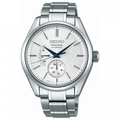 SEIKO PRESAGE MINI GRAND SEIKO SNOWFLAKE POWER RESERVE MENS AUTOMATIC DRESS WATCH SARW041