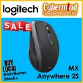 Logitech MX Anywhere 2S Graphite Wireless Multi Device Mouse With Logitech Flow, Gesture Control and Wireless File Transfer (Local Distributor's Stocks)