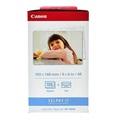 "Canon Paper 4x6 KP-108IN (108/Pack) กระดาษอัดรูปสำหรับเครื่องพิมพ์ Canon Selphy ขนาด 4 x 6 """