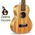 23 Inch Ukulele Zebra Ukulele Small Guitar