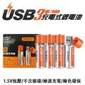 【coni shop】USB充電3號電池 一組2入 充電式電池 贈收納盒 AA電池 環保 乾電池 鋰電池 玩具 體重計