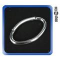 鋁合金 大耳環 造型 單扣扣環 登山 旅遊 外掛裝備(22-992)