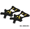 ~排汗王~X-MAX~可拆式-釘鞋套~釣魚專用~磯釣~跑步~運動~磨擦力增加~