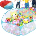 Folding Kids Ocean Ball Pool Playhut Portable Outdoor Indoor Child Toy Tent