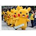 (May購)皮卡丘玩偶裝Pokemon GO/精靈寶可夢 GO/神奇寶貝/皮卡丘 人偶服 皮卡丘演出服 舞臺服 舞臺裝