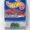 《盒控》Hot Wheels 風火輪 Go-Kart 卡丁車 經典老藍卡 金屬車身/底盤