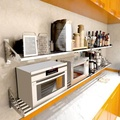 Wall oven supplies rack microwave oven rack
