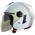 GP5 GP-5 233素色 白 雙層鏡片 半罩安全帽 內襯全可拆《裕翔》