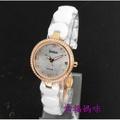 【 幸福媽咪 】網路購物、門市服務 BIBA 碧寶錶 公司貨 藍寶石 陶瓷女錶 玫瑰金 26mm B31WC050W