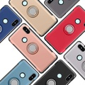 360 Rotating Finger Ring XiaoMi Redmi Note 5 Pro AI Case Car Holder Stand Cover
