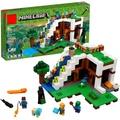 Lepin樂拼18028 我的世界 瀑布滑梯 拼裝拼插益智積木兒童玩具 兼容樂高 21134
