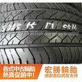【宏勝輪胎】中古胎 落地胎 維修 保養 底盤 型號:215 55 17 登祿普 SP270 9成 4條 含工台灣獨家有售