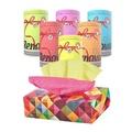《采邑家居》Renova 精裝雙色抽取式衛生紙1盒入 / 捲筒衛生紙-6捲入 (馬卡龍藍)