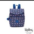 全新『Kipling』猴子叢林印花後背包