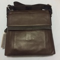 Tumi leather sling bag