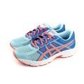 亞瑟士 ASICS GEL-CONTEND 4 GS 運動鞋 童鞋 藍色 大童 C707N-1406 no283