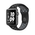 Apple Watch Series 2 智慧型手錶 (42mm) /A ,42公釐太空灰色鋁金屬錶殼搭黑色配冷灰色 Nike 運動型錶帶 (MNYY2 TA/A)