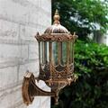 【光的魔法師 Magic Light】城堡壁燈 歐式戶外復古小工藝鋁質防銹壁燈