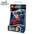 小丑女 LEGO/樂高/樂高鑰匙圈/鑰匙圈/DC 自殺突擊隊/LED/LED鑰匙圈