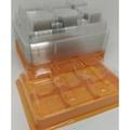 6入蛋黃酥盒 蛋黃酥盒子 塑膠盒 免紙盒包裝