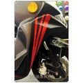 彩貼藝匠 Racing 雷霆 S 150 前方下兩側拉線B02(多種顏色) 機車貼紙 彩貼 彩繪  車膜 遮傷 車殼
