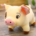 可愛花紋豬毛絨玩具亮眼豬娃娃公仔玩偶抱枕女生睡覺超萌娃娃節日