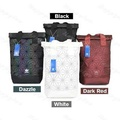 Instock Adidas 3D Mesh Roll Up Backpack x Issey Miyake [Black/Dazzle/Rainbow/Colourful/Nude Pink/Maroon Red/Navy Blue/White]