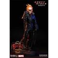 (現貨供應)Sideshow 台灣獨家代理BenToy 推薦電影惡靈戰警全身雕像(皮衣版)SC-6813(全球限量650隻)