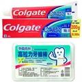 【Colgate 高露潔】三效合一牙膏(200g*12)+高拉力牙線棒*3