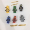 樂高 lego 忍者 ninjago zukin robes 70745 70746 70747 70748 70749