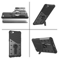 OPPO R9s Cases, OPPO R9s cover, [Kickstand Feature] Rotate Stand Holder Protective Shell Hybrid Bumper Armor Rubber Shockproof Case OPPO R9s Cover bags - intl