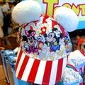 東京迪士尼樂園 米奇 米妮 布魯托 爆米花 造型 帽子 預購