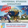 ★Christmas Ticket Open★Universal Studios Singapore Admission Adult ticket  / USS E-tickets