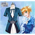 『cosplay服裝』特殊傳說 喵喵cos 新版藍袍全套 7件套 特傳 美少女喵喵 米可蕥cos 特殊派對 高校校服制服