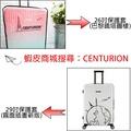 CENTURION百夫長旅行箱-托運專用透明保護套(26/29吋)