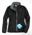 美國百分百【全新真品】Columbia 哥倫比亞 外出 登山 防寒 防水 保暖 高領 外套 黑色 夾克 S號 B689