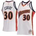 NBA球衣 Stephen Curry 勇士復古新人白 M&N Authentic 球員版 電繡 全新含吊牌