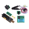 NEW ❀❀ EEPROM BIOS usb programmer CH341A + SOIC8 clip + 1.8V adapter + SOIC8