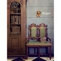 【拍賣師古董市集】歐洲古董1880年代法國文藝復興雙人椅/玄關椅/書桌椅