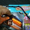 FORCE 專用後方向燈雙色組,短牌架,直上型
