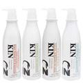 KIN 還原酸蛋白洗髮精(護色/控油/育髮)/還原護髮素 (750ml)-白瓶《沐沐美妝》KI