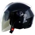 GP5 GP-5 233素色 黑 雙層鏡片 半罩安全帽 內襯全可拆《裕翔》